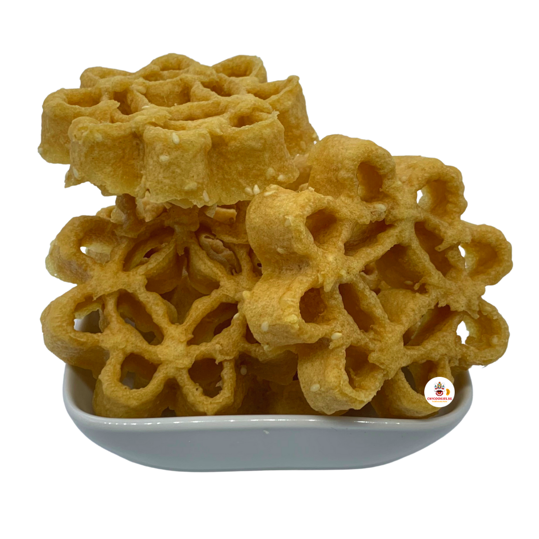 Honeycomb Cookies (White Sesame) 蜜蜂窝白芝麻