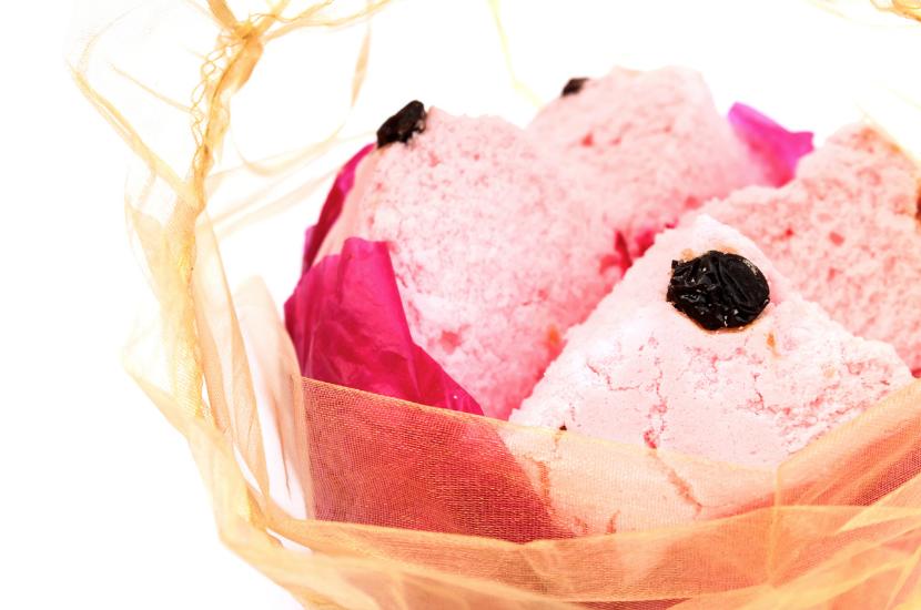 Steamed sponge cake for CNY dessert
