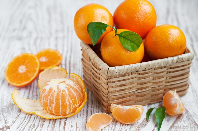 tangerines - types of CNY oranges