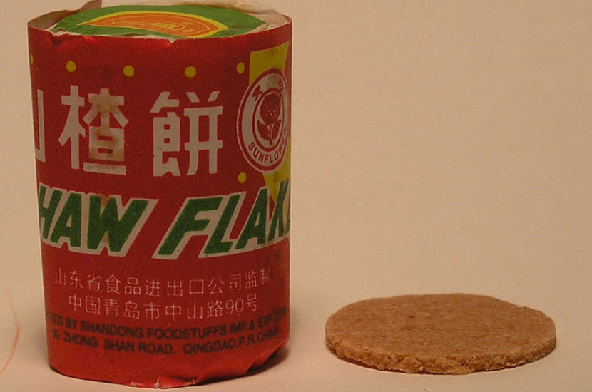 Haw flakes, the nostalgic Chinese New Year goodie