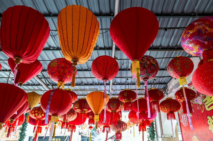 lanterns, CNY decoration ideas