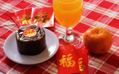 Traditional Nian Gao for Chinese New Year