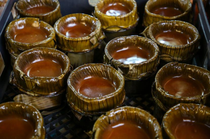 Traditional Niangao made in Hainan