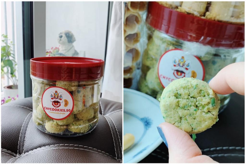Green Pea Cookies Singapore