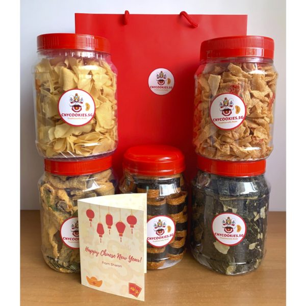 Snackaholic Set Chinese New Year