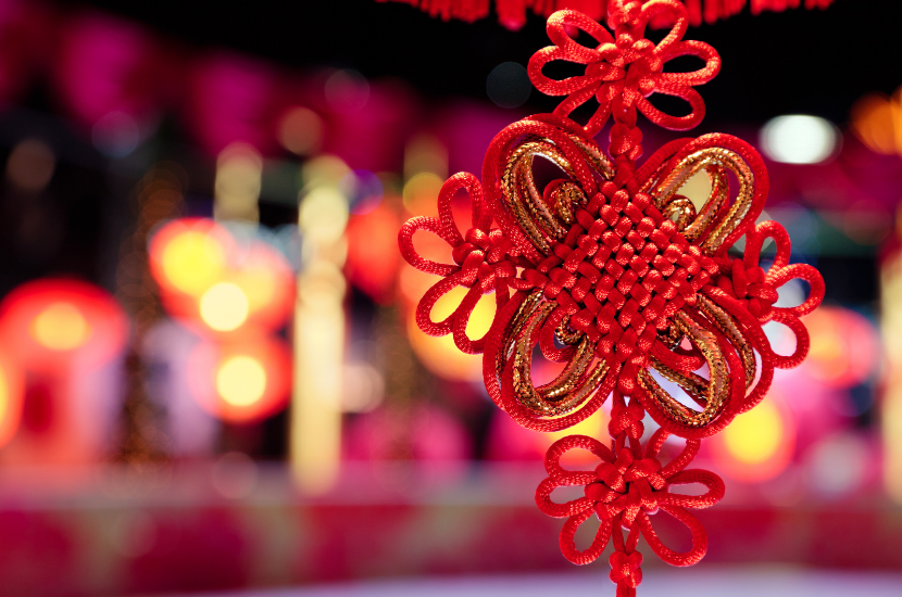 Chinese knots, a must have CNY decoration